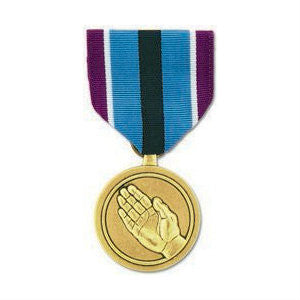 Humanitarian Service Medal Anodized