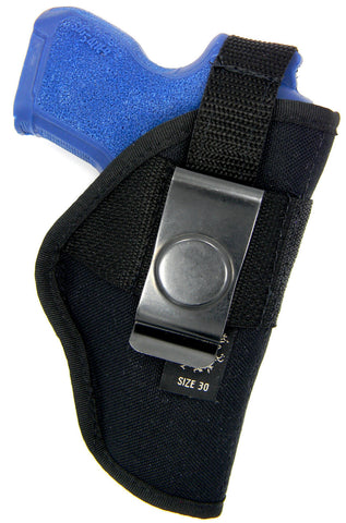 Belt Clip IWB Thumb Break Holster For Most Small Frame Subcompact Semi Auto, 25MM, 32MM, KelTec 32