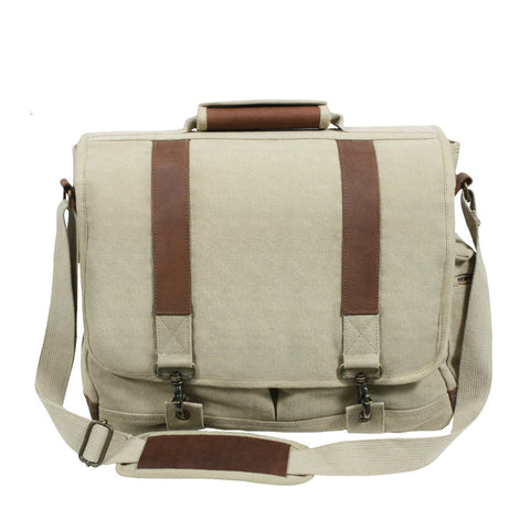 Vintage Canvas Pathfinder Laptop Messenger Bag