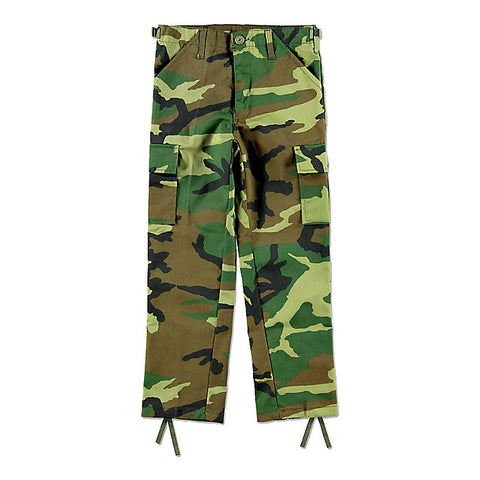 Kids BDU Pants Woodland