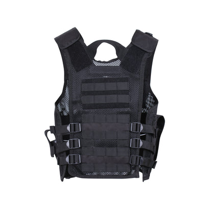 Kids Cross Draw Vest Black