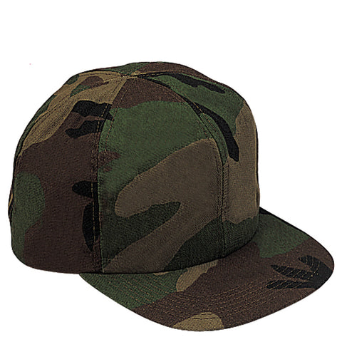 Kid's Adjustable Woodland Camouflage Hat