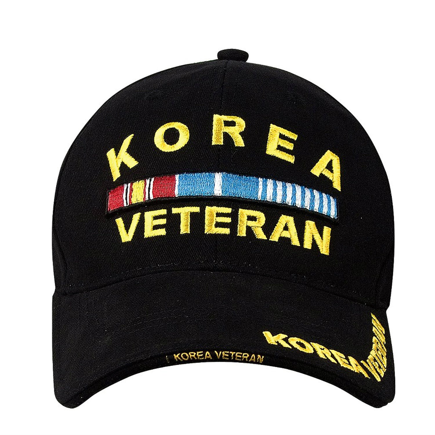 Korea Veteran Hat Black