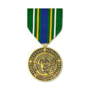 Korean Defense Service Medal Anodized