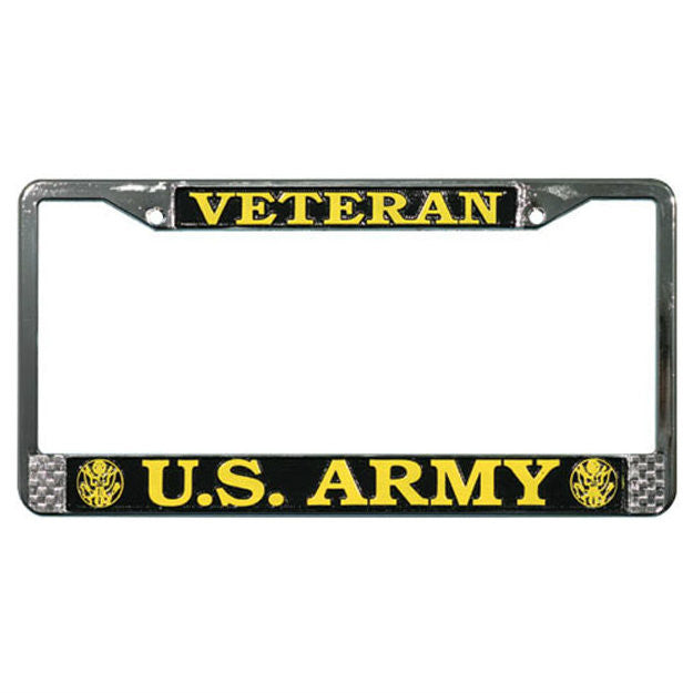 Army Veteran License Plate Frame