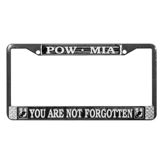 POW / MIA License Plate Frame