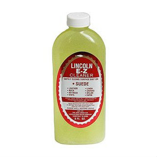 Lincoln E-Z Suede/Leather Cleaner 8 fl.oz.