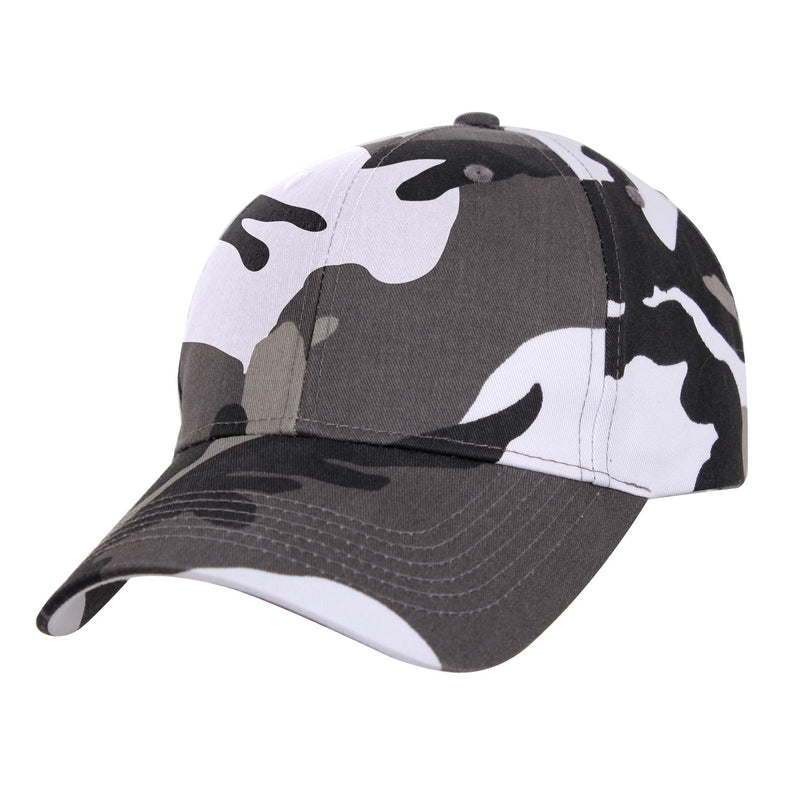 Low Profile Adjustable Hat City Camouflage