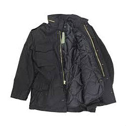 M-65 Field Jacket With Liner Black