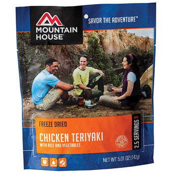 Mountain House Chicken Teriyaki With Rice and Vegetables