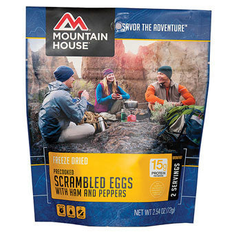 Mountain House Scrambled Eggs With Ham and Peppers