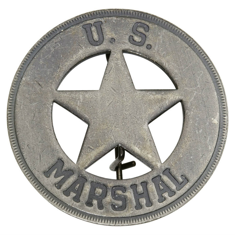 Historic US Marshal Badge