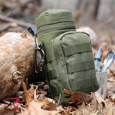 MOLLE Water Bottle Pouch Olive Drab