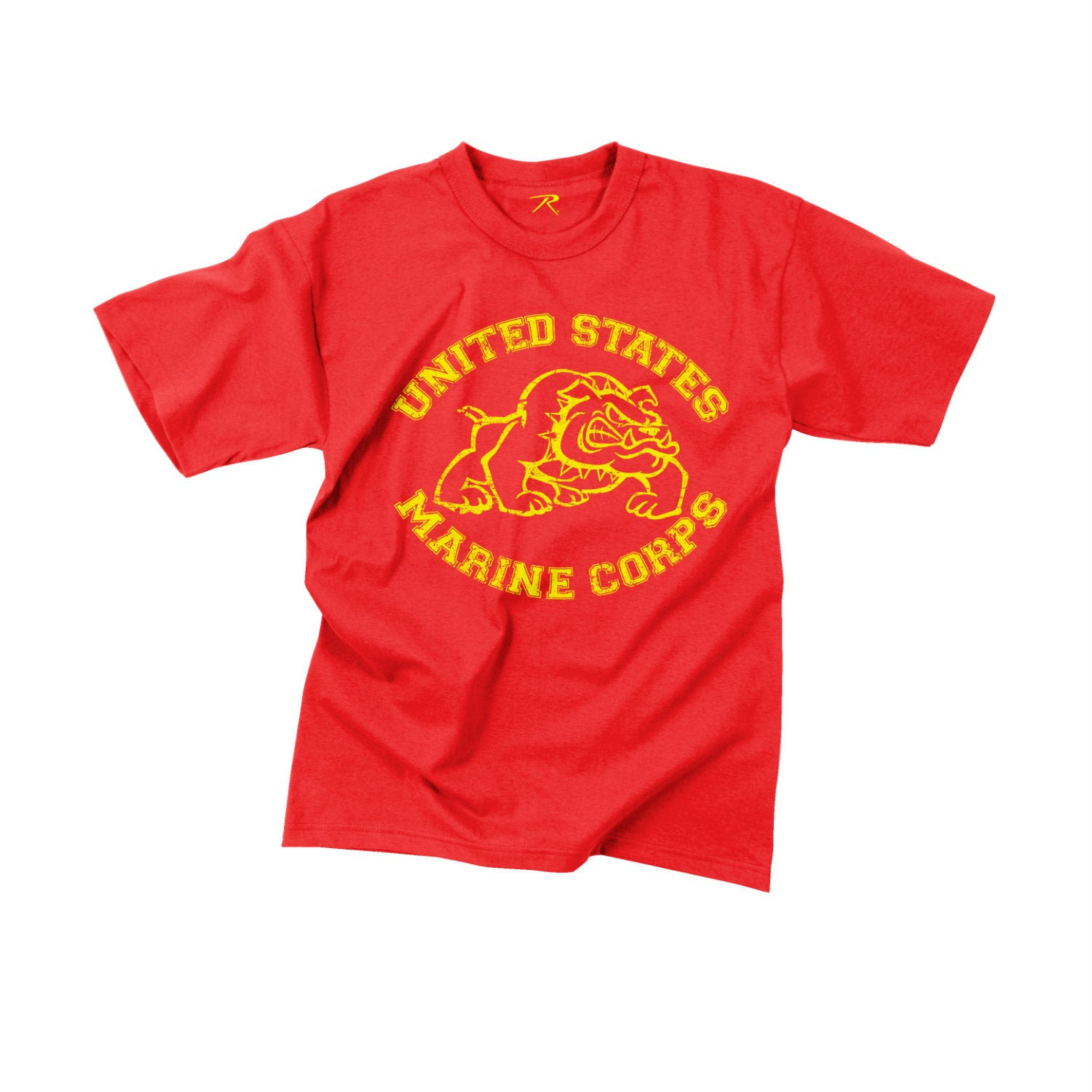 Marine Bulldog T-Shirt Red