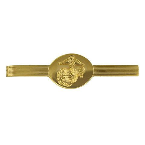 Marine Corps Tie Clasp Enlisted Anodized / No Shine