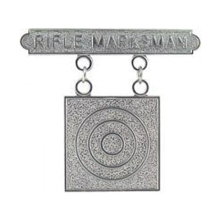Marine Rifle Marksman Badge