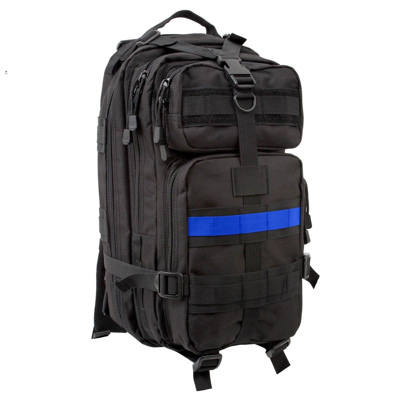 Medium Transport Pack Black Thin Blue Line