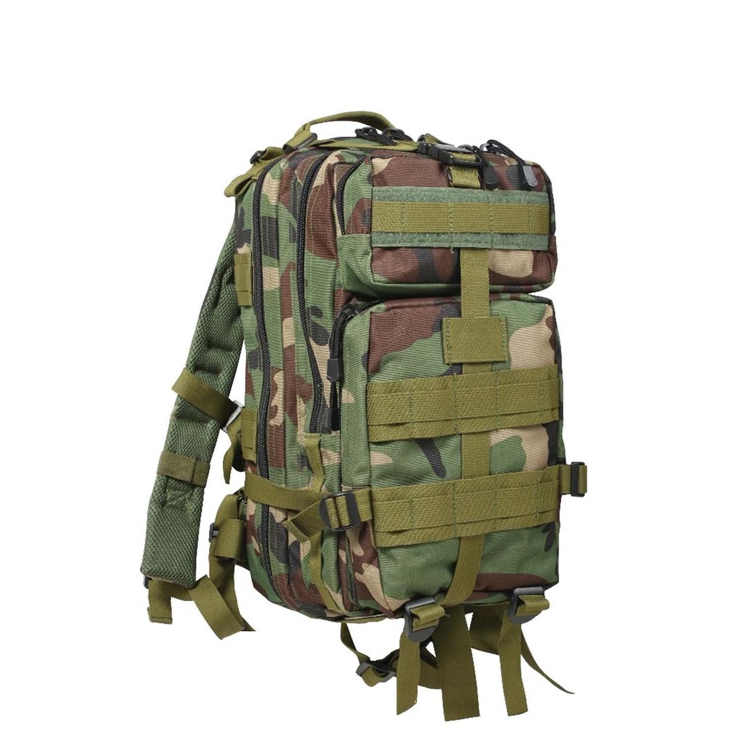 Medium Transport Pack Woodland Camouflage