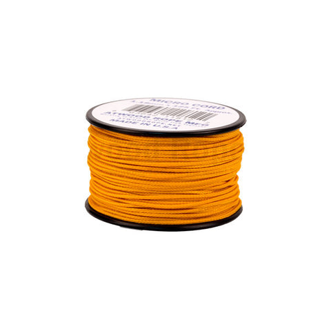 125Ft 1.18mm Micro Cord Air Force Gold - Indy Army Navy