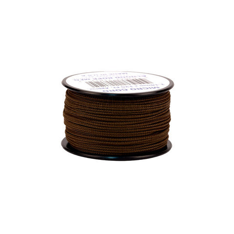 125Ft 1.18mm Micro Cord Brown - Indy Army Navy