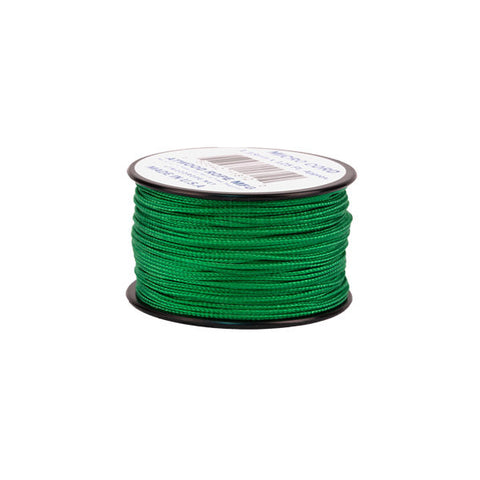 125Ft 1.18mm Micro Cord Green - Indy Army Navy