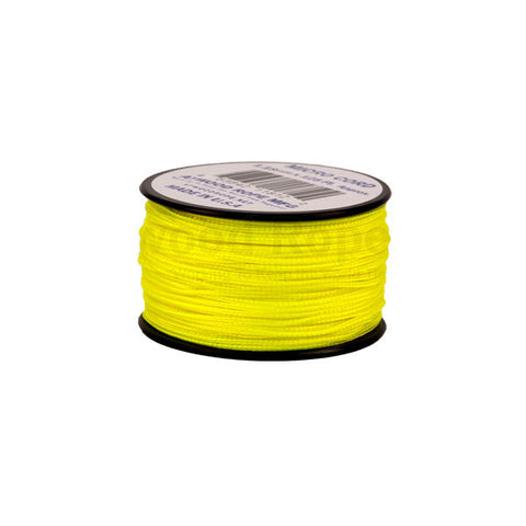 125Ft 1.18mm Micro Cord Neon Yellow - Indy Army Navy
