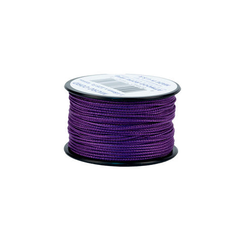 125Ft 1.18mm Micro Cord Purple - Indy Army Navy
