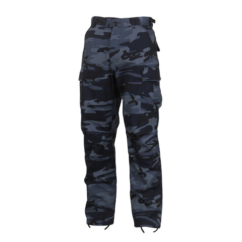Midnight Blue Camouflage Pants