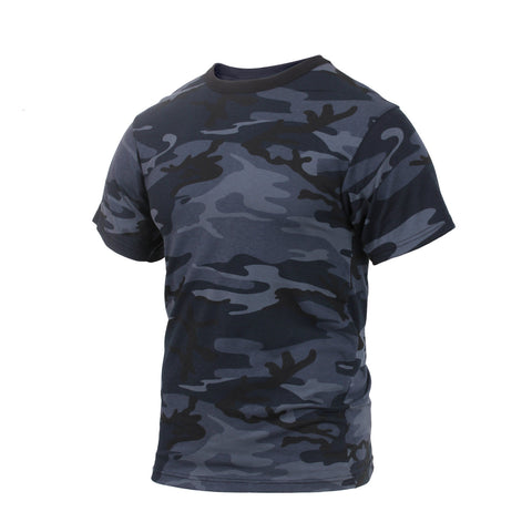 Midnight Blue Camouflage T-Shirt