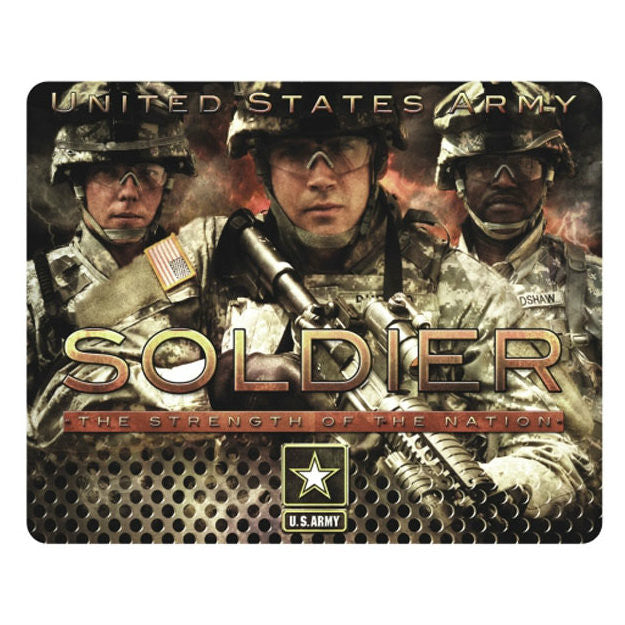 Army Soldier The Strength Of The Nation Mouse Pad