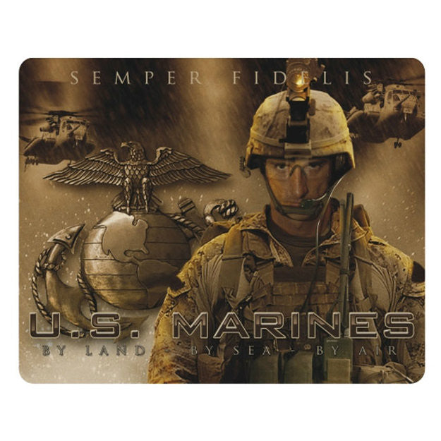 Marines By Land, By Sea, By Air Mouse Pad