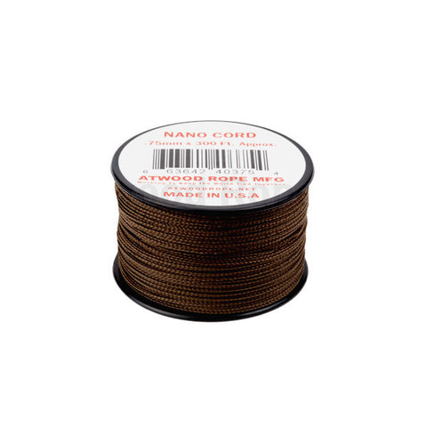 300Ft 0.75MM Nano Cord Brown - Indy Army Navy