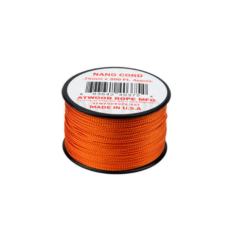 300Ft 0.75MM Nano Cord Burnt Orange - Indy Army Navy