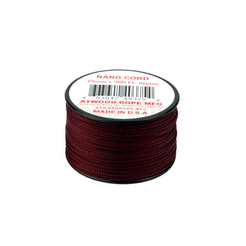 300Ft 0.75MM Nano Cord Maroon - Indy Army Navy