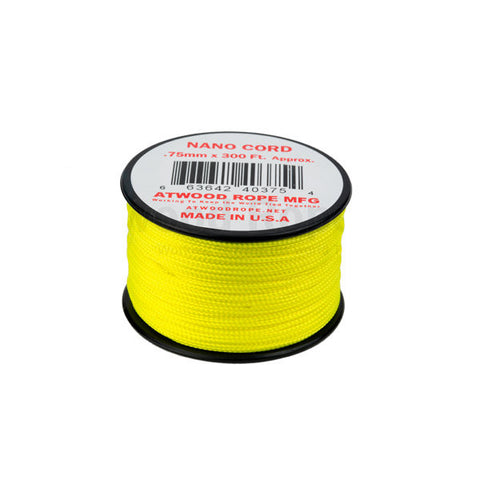 300Ft 0.75MM Nano Cord Neon Yellow - Indy Army Navy
