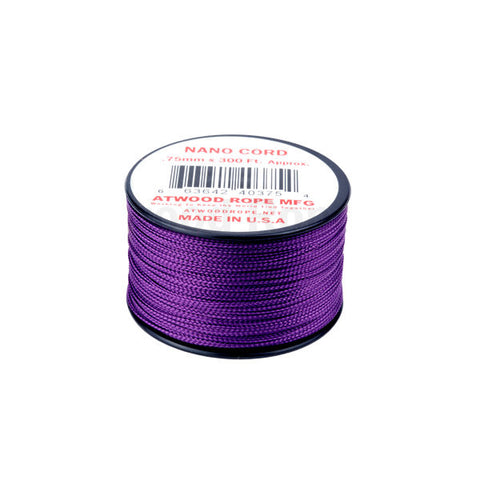 300Ft 0.75MM Nano Cord Purple - Indy Army Navy