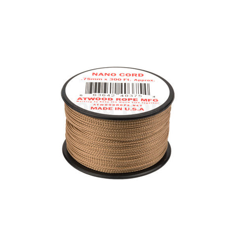 300Ft 0.75MM Nano Cord Tan - Indy Army Navy