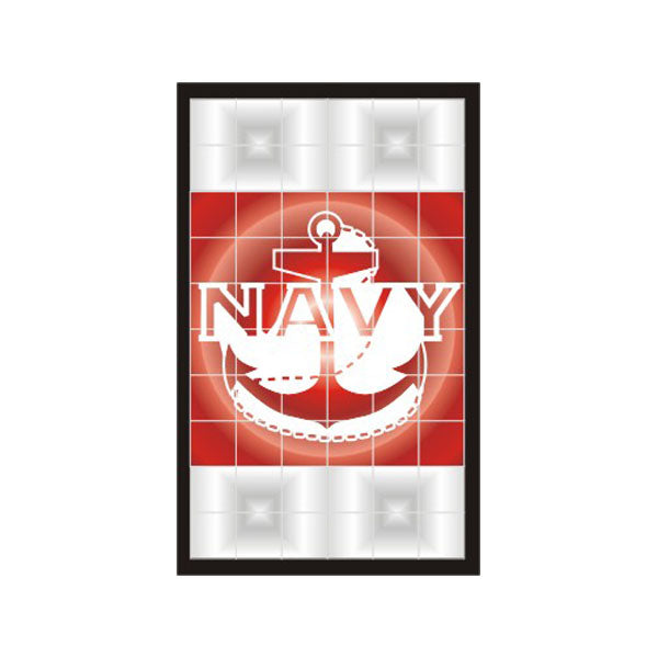Navy Anchor Taillight Vinyl Transfer Decals (2 Per Pack)