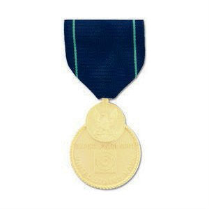 Navy Expert Pistol Shot Medal Anodized - Indy Army Navy