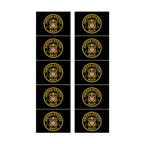 Navy Mini Sticker Pack - Indy Army Navy
