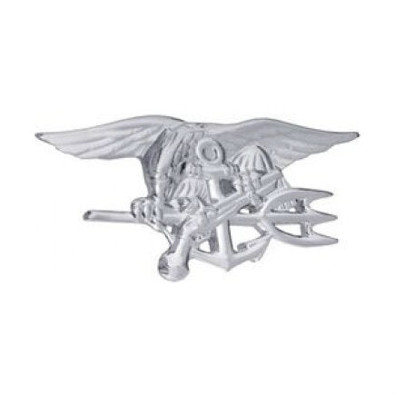 Seal Badge Silver (2 3/4 Inch)