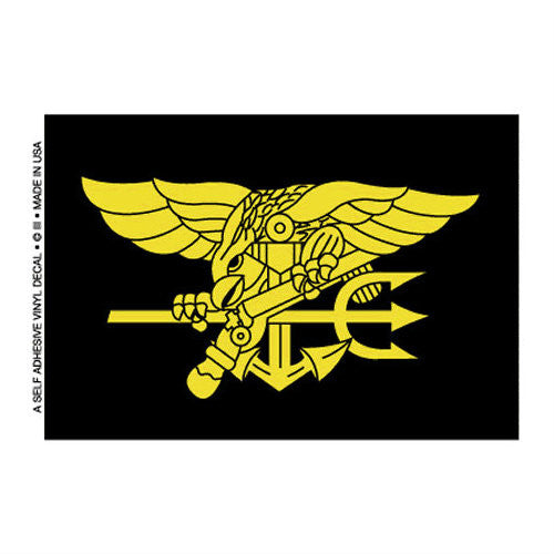 Navy Seals Logo Flag Decal - Indy Army Navy