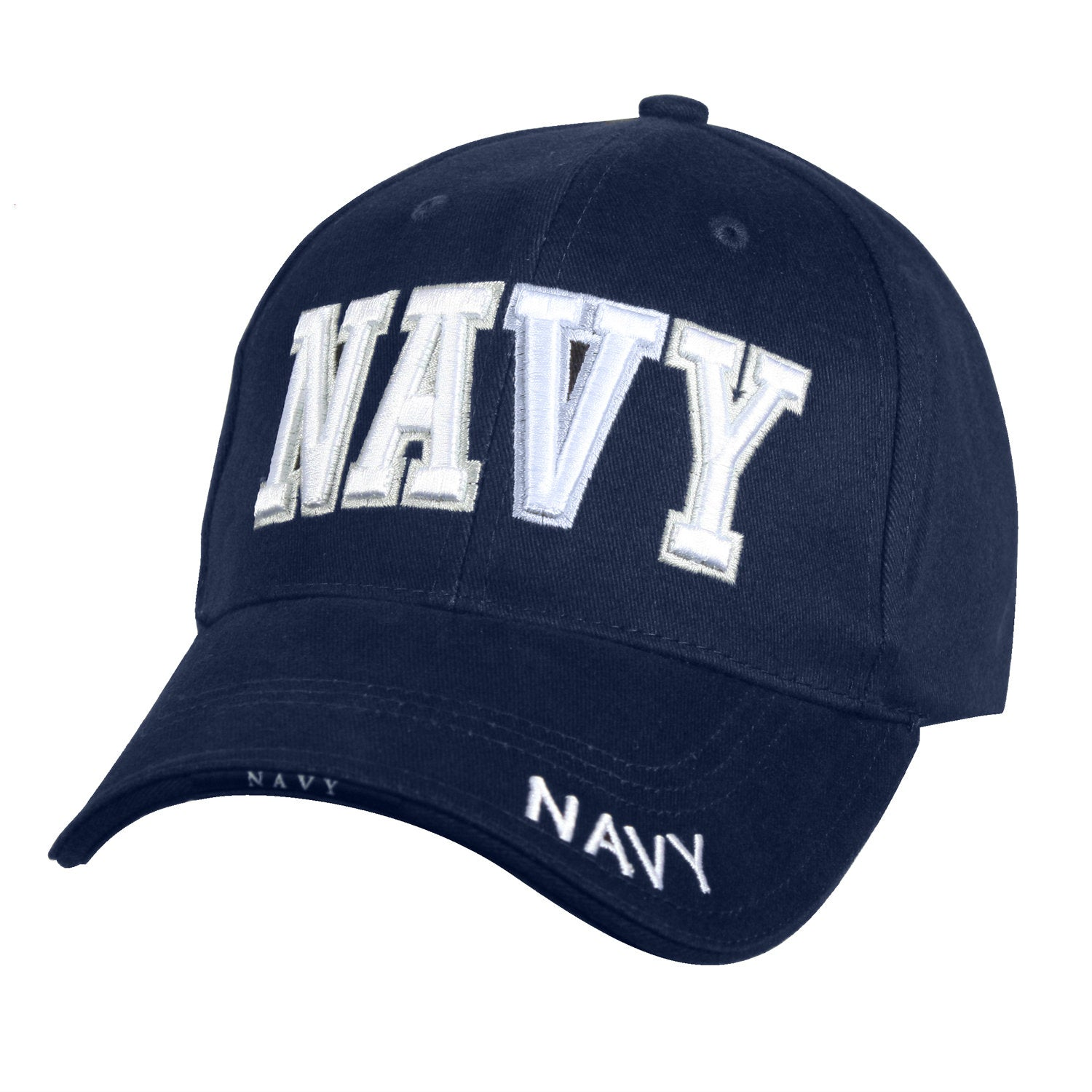 Navy Text Hat Navy