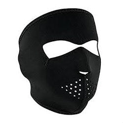 Neoprene Full Face Mask Black - Indy Army Navy