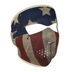 Neoprene Full Face Mask Patriot - Indy Army Navy