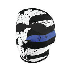 Neoprene Full Face Mask Police Thin Blue Line - Indy Army Navy