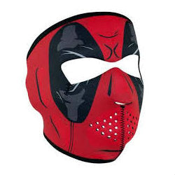 Neoprene Full Face Mask Red Dawn - Indy Army Navy