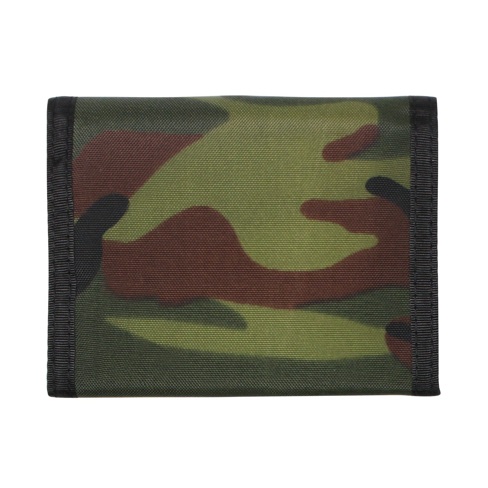 Nylon Commando Wallet Woodland Camouflage