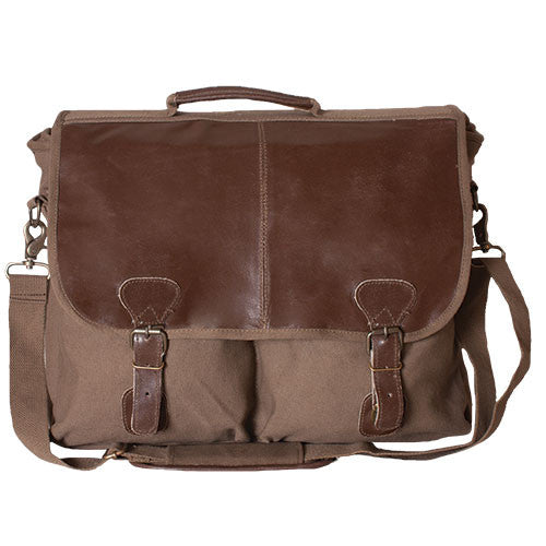 Academic Portfolio Briefcase Bag Olive