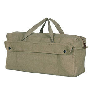 Jumbo Mechanic's Tool Bag With Brass Zipper
